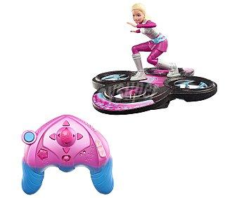 Barbie Vehículo dron radiocontrol Hoverboard, Aventura en las estrellas 1 unidad