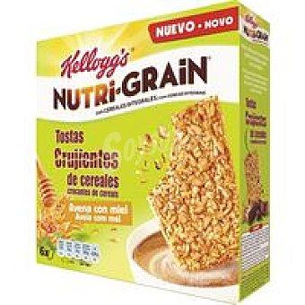 Nutri Grain Kellogg's Galleta Tosta avellana miel Nutri-grain 240gr