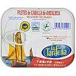 Filetes de caballa de Andalucía en aceite de girasol 163 g LA TARIFEÑA