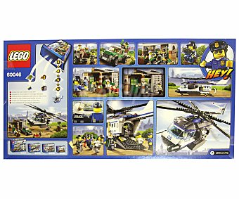 LEGO Juego de Construcciones Helicóptero de Policía, Modelo 60046 1 Unidad