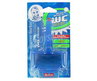 Auchan Aparato Wc Bloque Agua Azul 1u