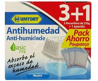 Humydry Ambientador Basic 3 Recambios + Aparato