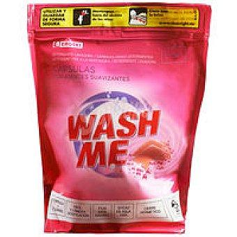 EROSKI Detergente en cápsulas con suavizante 2en1 20 dosis