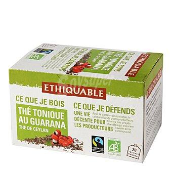 Ethiquable Té tónico con guarana 20 bolsitas 20 ud