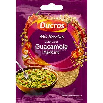 Ducros Sazonador para guacamole mejicano 3-4 raciones Sobre 20 g