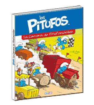 LOS PITUFOS (la carrera de los pitufomoviles)