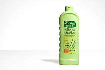 Instituto Español gel de baño hidratante de Aloe Vera bote 1250 ml formato familiar Bote 1250 ml