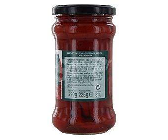 Auchan Pimientos del Piquillo enteros al natural de categoría extra Frasco de 225 gramos