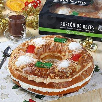 Roscón mediano nata-crema 850 gr