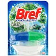 Block wc líquido desinfectante duo-activo (colgador + recambio) Blister 1 u Bref WC