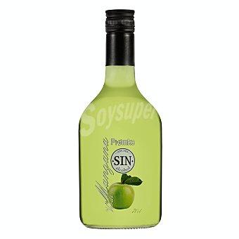 Piomka Licor sin alcohol de manzana ver Botella 70 cl