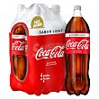Refresco de cola Pack 4 botellas x 2 l - 8 l Coca-Cola Light