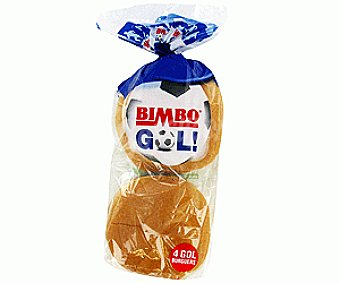 Bimbo Pan de Hamburguesas 4u 300g