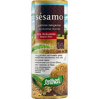 Santiveri Galletas de sésamo sin azúcar Paquete 190 g
