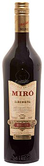 Miro Vermouth rojo reserva Botella 1 l
