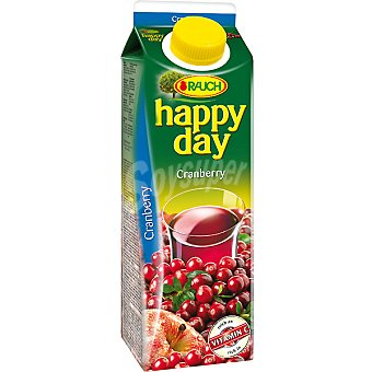 RAUCH HAPPY DAY Zumo Cranberry con vitamina C Envase 1 l
