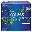 Tampones compak super Caja 22 u Tampax