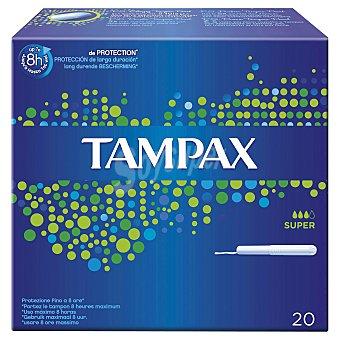 Tampax Tampones compak super Caja 22 unidades