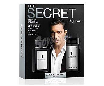Antonio Banderas Estuche Colonia Hombre Secret vaporizador+desodorante 1u