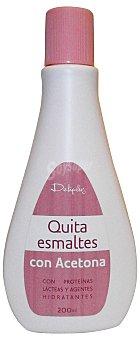 DELIPLUS Quitaesmalte con acetona BOTELLA 200 cc