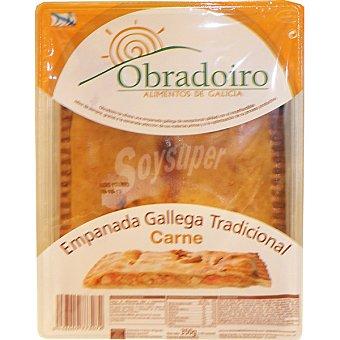 Obradoiro Empanada gallega tradicional de carne Envase 350 g