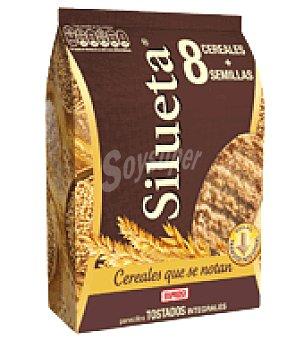 Bimbo Silueta Panecillos tostados Integrales 8 cereales + Semillas 220 g