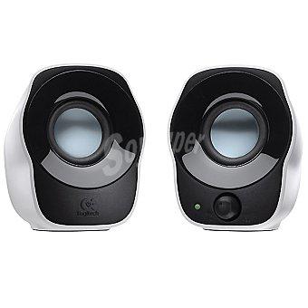 LOGITECH Z-120 Altavoces speakers 2.0 en color negro y blanco