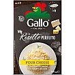Risotto pronto a los cuatro quesos para preparar en 12 minutos Envase 175 g Riso Gallo
