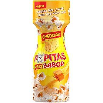 POPITAS sazonador para palomitas Maxi Sabor Cheddar  envase 60 g