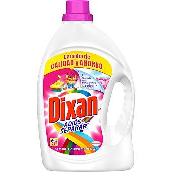 Dixan Detergente máquina líquido Adiós al Separar Botella 38 dosis