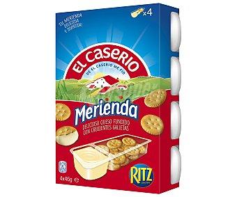 El Caserío El Caserio merienda Pack 4x46 g