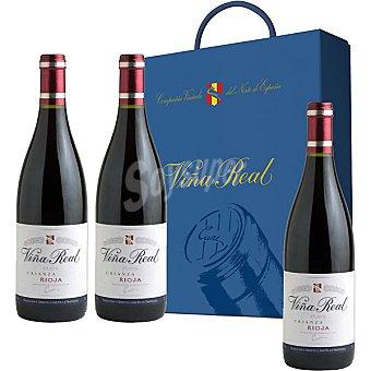vino tinto crianza D.O. Rioja Estuche 3 botellas 75 cl