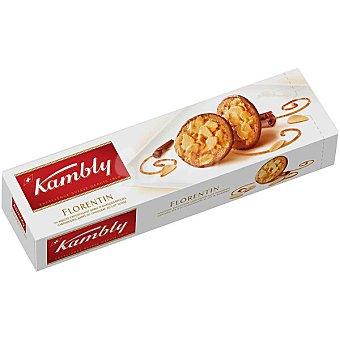 Kambly Florentin galletas con chocolate y almendra caramelizada 100 g