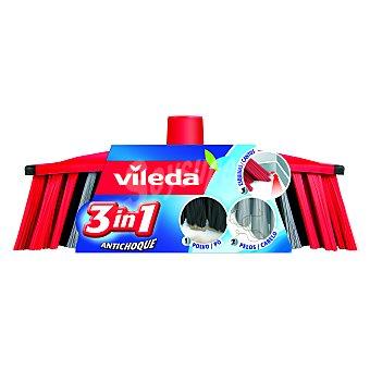 Vileda Recambio Cepillo Antichoque 3 en 1 1 Unidad
