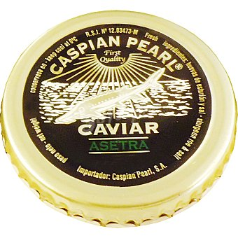 Caspian Pearl Acuicultura Asetra Queen Sturgeon Tarrina 30 g