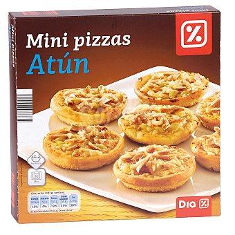 DIA Mini pizzas atún Caja 270 gr