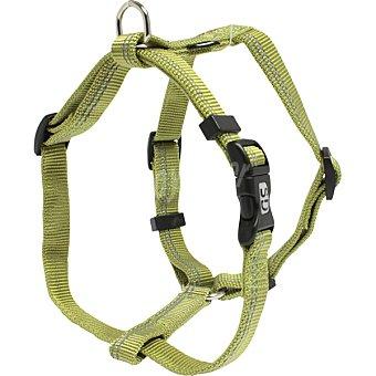 San Dimas Arnés de nylon para perros color verde medida 15 mm 1 unidad