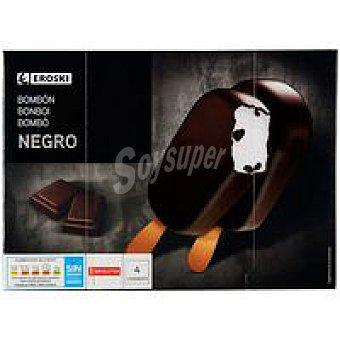 Eroski Bombón negro Pack 4x120 ml