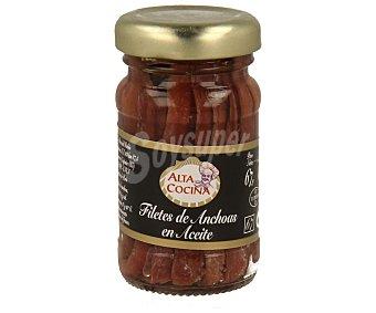 ALTA COCINA Filetes de anchoa en aceite Bote de 40 g peso escurrido