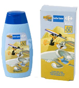 Carrefour Kids Leche solar niños factor de protección 50 50 ml