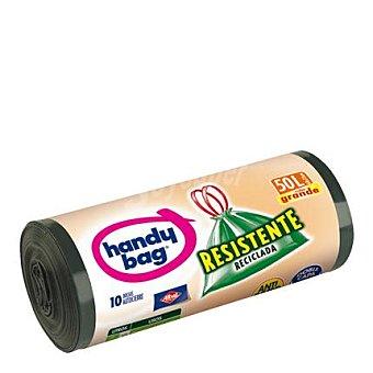 handy bag Bolsa de basura reciclada 50 l. Paquete 10 unid