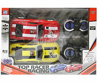 YUAN DI Set de 2 Coches Radiocontrol Top Racer Racing 1 Unidad