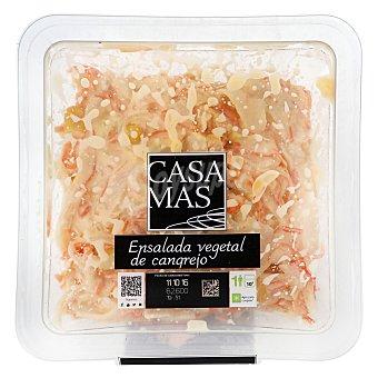 Casa Mas Ensalada vegetal con cangrejo Tarrina 240 g