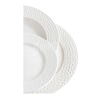 Vajilla en porcelana redonda 18 pieza Mod. NEW BONE NACAR 18 piezas