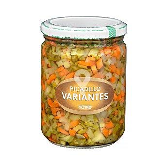 Picadillo de variantes (pepinillo y zanahoria)