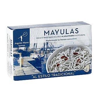 MAYOZ Mayulas de aguinaga al ajillo lata 55 grs Lata 55 grs