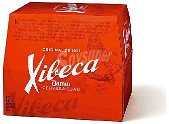 Xibeca Cerveza 12 botellines de 25 cl