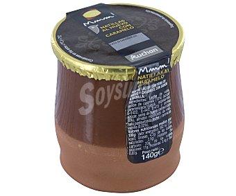 Auchan Natillas de huevo sabor vainilla con caramelo 140 gramos