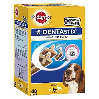 Pedigree Dentastix Snacks dental para perros de talla mediana 28 unidades de 720 gramos