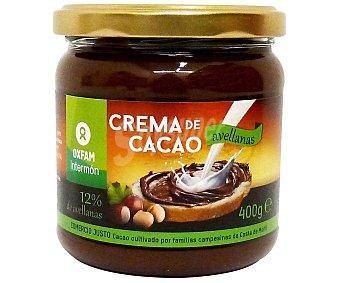 Intermón Oxfam Crema de cacao con avellanas Intermón 400 g